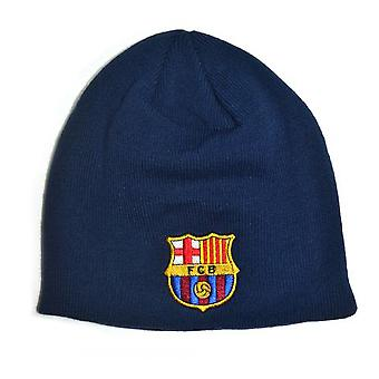FC Barcelona Official Football Knitted Beanie Hat