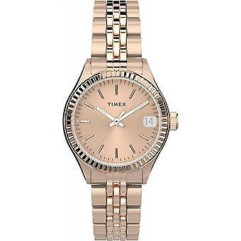 Timex TW2T86500 Waterbury Rose Gold Tone Wristwatch
