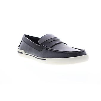 Unlisted by Kenneth Cole Un Anchor Mens Black Casual Slip On Loafers Shoes