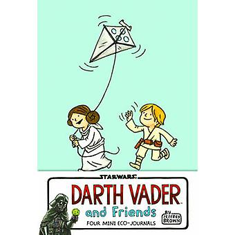 Darth Vader and Friends Four Mini EcoJournals by Jeffrey Brown