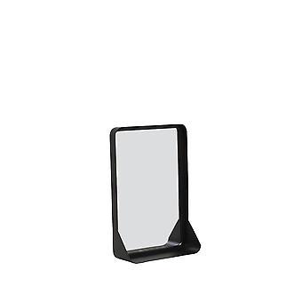 Light & Living Mirror 30.5x10x44cm Sipau Matted Black