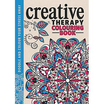 The Creative Therapy Colouring Book by Hannah Davies - Richard Merrit