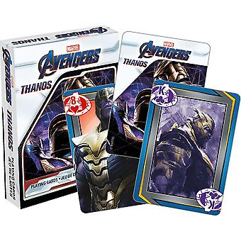 Marvel avengers - thanos playing cards