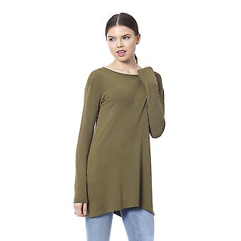 Pullover Military Green Silvian Heach Woman