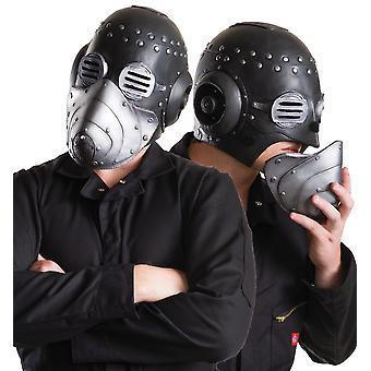 Sid Slipknot Heavy Metal Musician Sidney Wilson Mens Costume Mask Removable Face