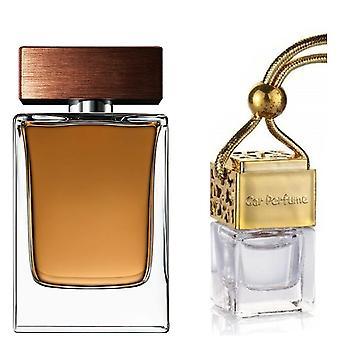 D&G The One For Him Inspired Fragrance 8ml Gold Lid Bottle Car Air Freshener