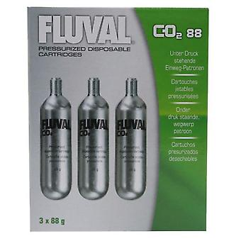 Fluval FLUVAL CO2 RECAMBIO 3 PC (Fish , Aquarium Accessories , Carbon Dioxide)