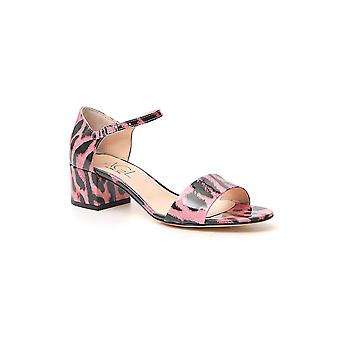 Agl Attilio Giusti Leombruni D631046pcglint0354 Women's Pink Leather Sandals