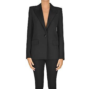 Givenchy Ezgl074053 Women's Black Viscose Blazer