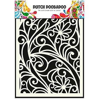 Hollantilainen Doobadoo Hollantilainen Naamio Taide stensiilin kukkaikkuna A5 470.715.024
