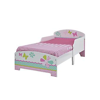 Filles Pretty n Pink Patchwork Toddler Bed