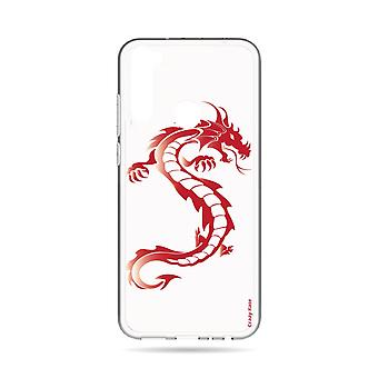 Hull For Xiaomi Redmi Note 8t Soft Red Dragon