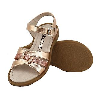 SKEANIE Girls LEXI sandalen in Rose goud