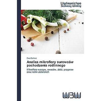 Analiza Mikroflory Surowcow Pochodzenia Ro Linnego by Bartosz Ewa