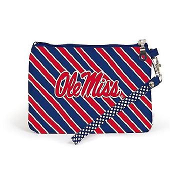 Ole Miss Rebels NCAA Randig Wristlet