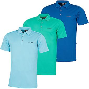Ping Collection Mens 2020 Radial Short Sleeve Wicking Quick Dry Golf Polo Shirt