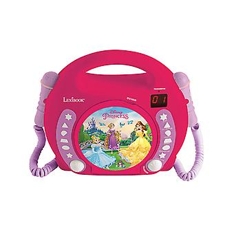 Disney Princess CD-speler met microfoons