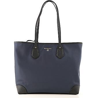 Michael von Michael Kors 30h9gv0t3c407 Frauen's blau Stoff Reisetasche