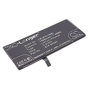 Batterie batterie batterie X-plus pour Apple iPhone 7 4,7 remplacé batterie ACCU de rechange de 616-00255