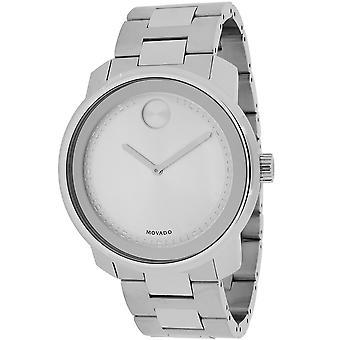 Movado Men's Bold Silver Dial Watch - 3600257