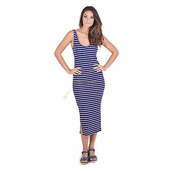 Vestido longo azul Alicante