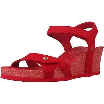 Panama Jack Sandals Julia Red Color