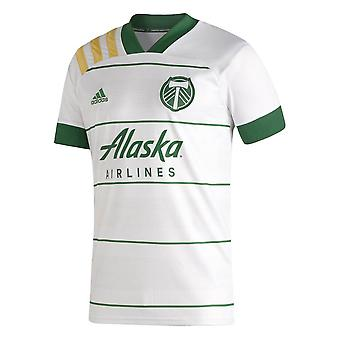 2020-2021 ポートランドティンバーズアウェイアディダスフットボールシャツ
