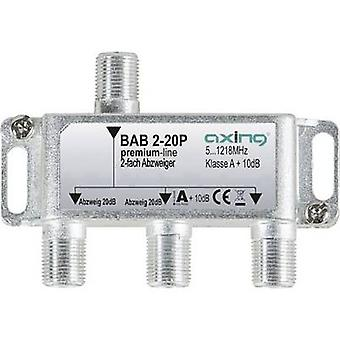 Axing BAB 2-20P Cable TV splitter 2-way 5 - 1218 MHz