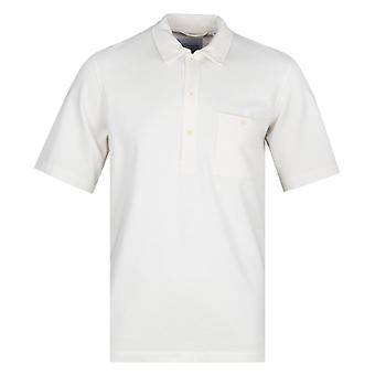 Camicia manica corta albam cotone bianco Pullover