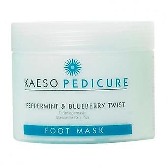 Kaeso peppermint & blueberry twist foot mask 450ml