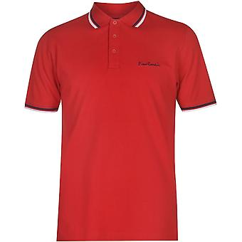 Pierre Cardin Tipped Polo Camisa Hombres
