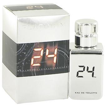 24 Platinum The Fragrance Eau De Toilette Spray By ScentStory 1 oz Eau De Toilette Spray