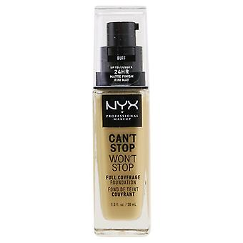 Nyx Can't Stop Won't Stop Full Coverage Foundation - # Buff - 30ml/1oz
