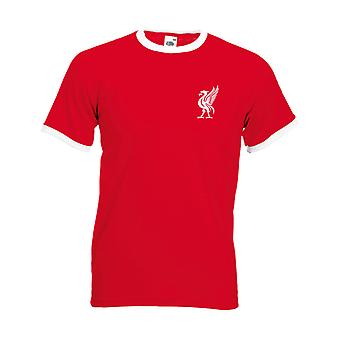 Liverpool style t-shirt with Liverbird Retro shirts