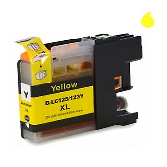 RudyTwos Replacement for Brother LC-125XLY Ink Cartridge Yellow Compatible with MFC-J970DW, DCP-J4110DW, DCP-J4100Series, DCP-J152WR, DCP-J752DW, DCP-J150