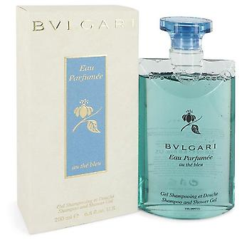 Bvlgari Eau Parfumee Au The Bleu Shower Gel By Bvlgari 6.8 oz Shower Gel