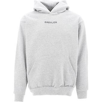 Babylon La F102066asht Men's Grey Cotton Sweatshirt