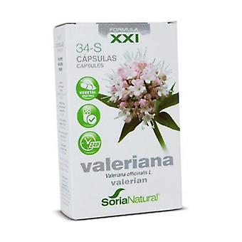 34 S Valerian (XXI Formula) 30 capsules