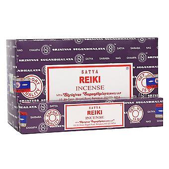 Something Different Satya Reiki Incense Sticks (Box Of 12)