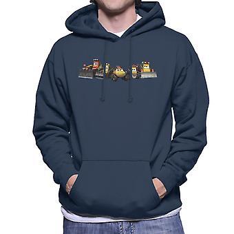 Disney Cars Construction Crew Homme-apos;s Sweatshirt à capuchon