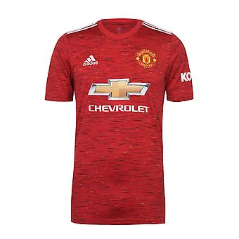 Manchester United FC Home Shirt 2020 / 2021 Mens - OFFICIAL Football Kit