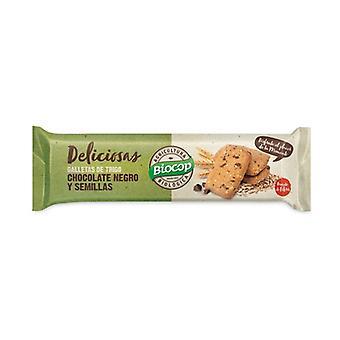 Evästeet tummaa suklaata ja siemeniä 140 g