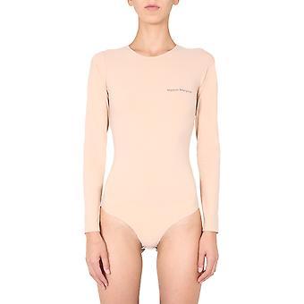 Mm6 Maison Margiela S52na0031s20518121 Dames's Naakt Nylon Bodysuit