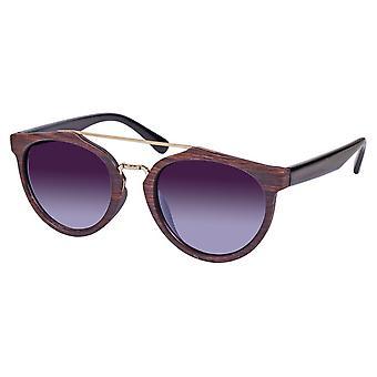 Sunglasses Unisex dark brown / black (ml-6603)