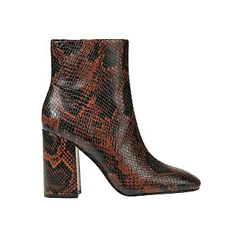 Ash Ezgl040101 Femmes-apos;s Brown Leather Ankle Boots