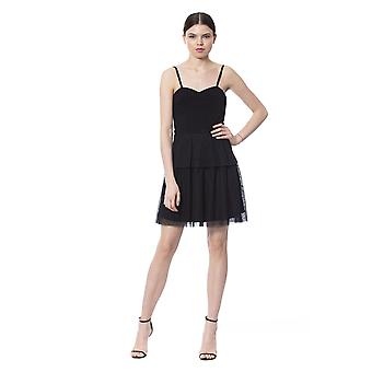 Silvian Heach Black Dress SI996472-XS