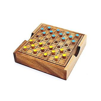 Checkers Colored Board Game