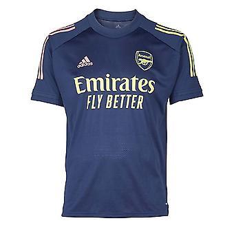 Camisa de Treinamento Arsenal Adidas 2020-2021 (Indigo) - Crianças