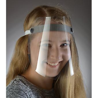 Faceshield 60 Stück Maske Face Shield mit Stirnband Schutzmaske