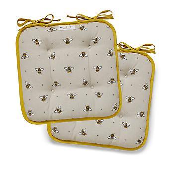 Cooksmart Set van 2 Bumble Bijen Seat Pads